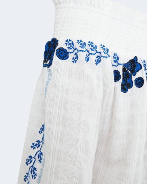 Bluse manica lunga Desigual SENA Bianco - Foto 4