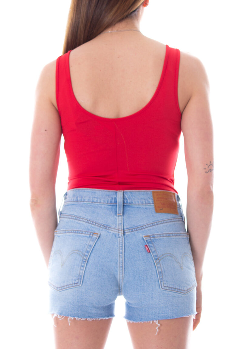 Body Levi's® FLORENCE BODYSUIT Rosso - Foto 2