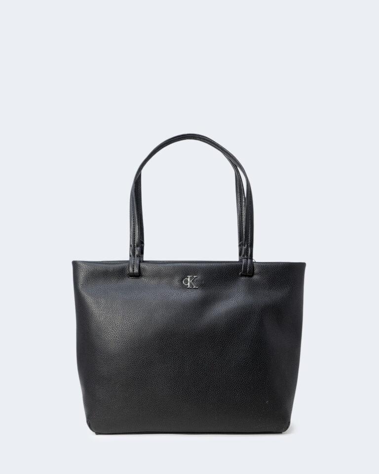 Borsa Calvin Klein SOFT SHOPPER 29 Nero - Foto 1