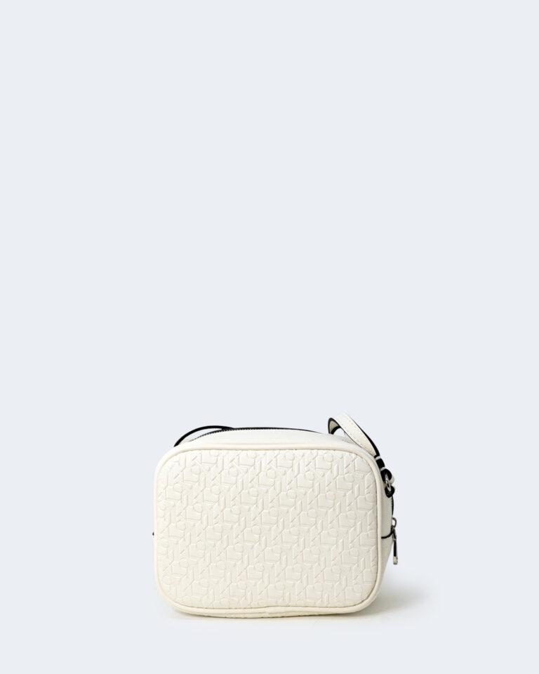 Borsa Calvin Klein CAMERA Bianco - Foto 3