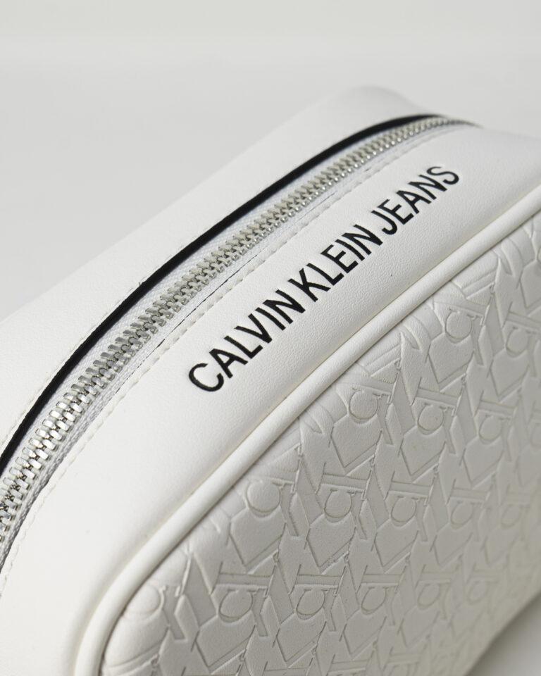 Borsa Calvin Klein CAMERA Bianco - Foto 4