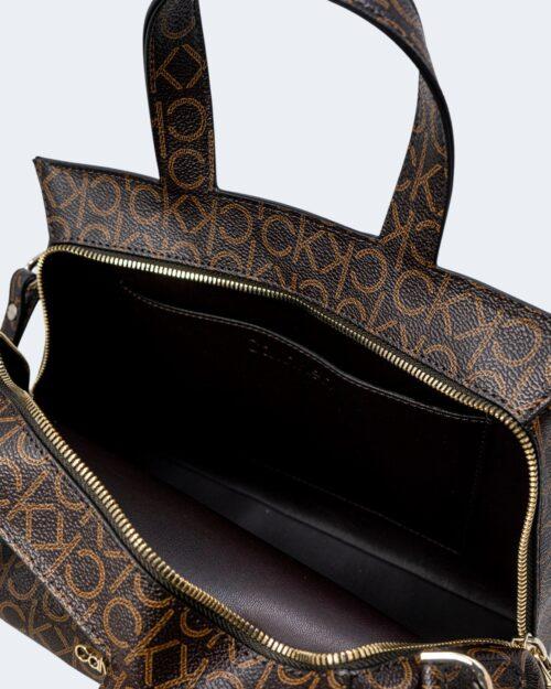 Borsa Calvin Klein TOTE Marrone - Foto 4