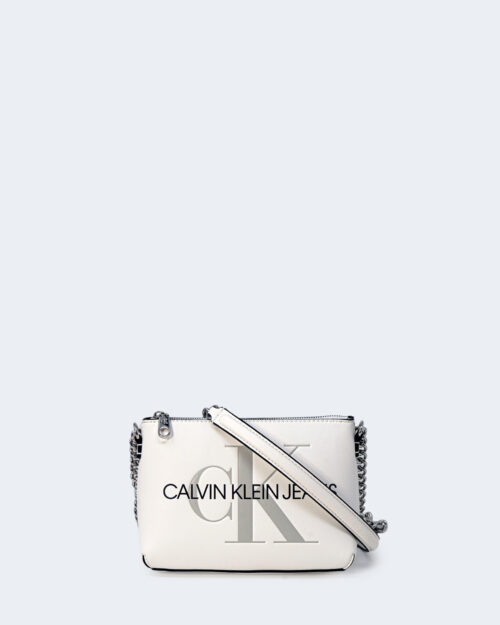 Borsa Calvin Klein CAMERA POUCH Bianco - Foto 1