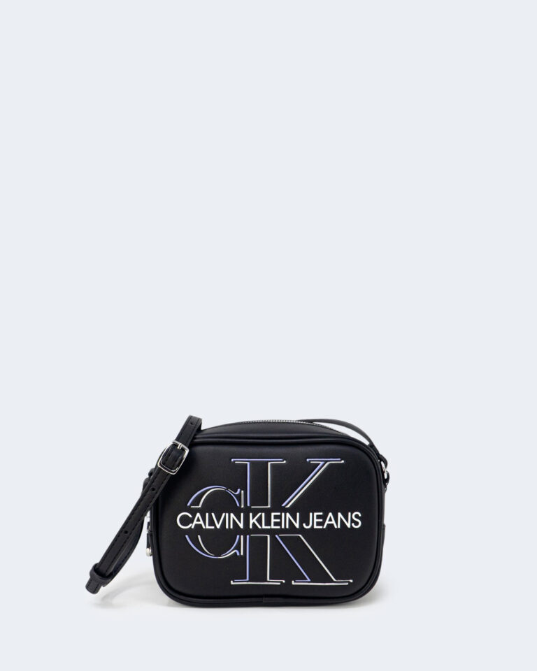 Borsa Calvin Klein CAMERA BAG GLOW Nero - Foto 1