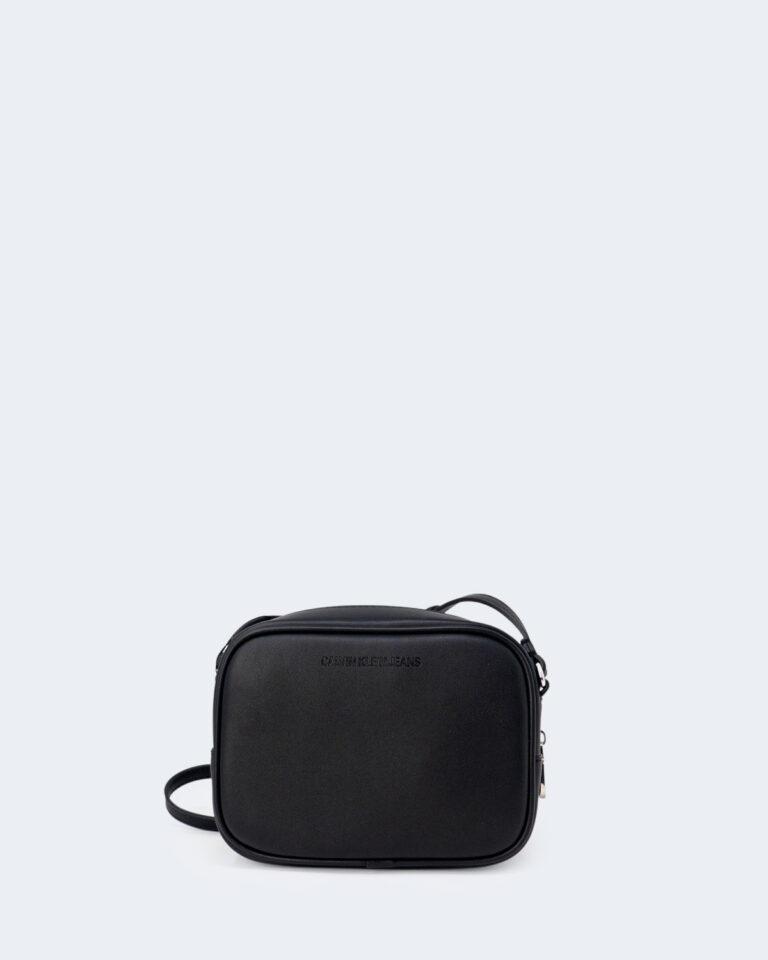 Borsa Calvin Klein CAMERA BAG GLOW Nero - Foto 3