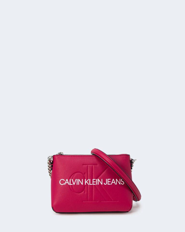 Borsa Calvin Klein CAMERA POUCH Rosso - Foto 1