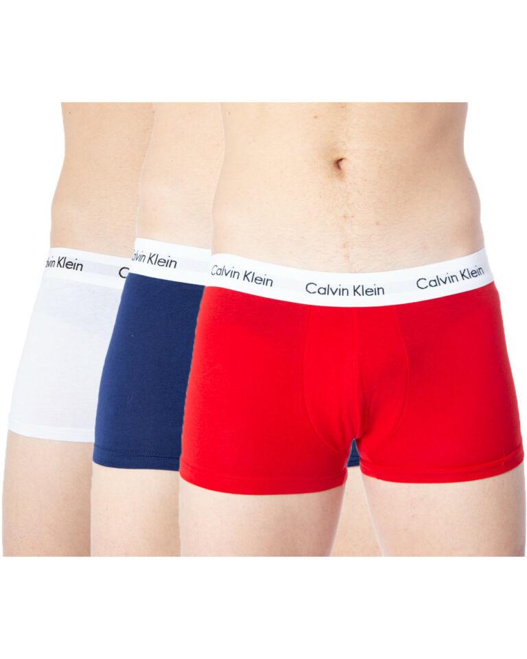 Boxer Calvin Klein Underwear PACCO DA 3 Rosso - Foto 4
