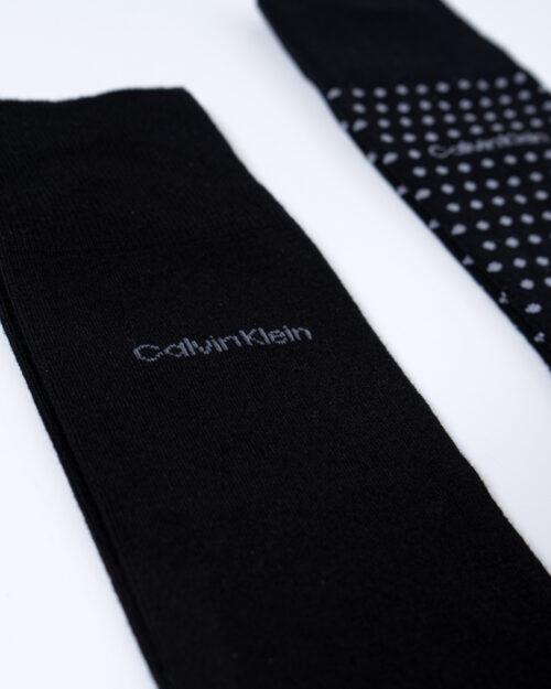 Calzini Lunghi Calvin Klein Crew 2P Dot Felix Nero – 53949
