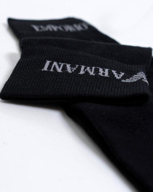 Calzini Lunghi Emporio Armani Underwear 2 PACK CALZA LUNGA Nero - Foto 3