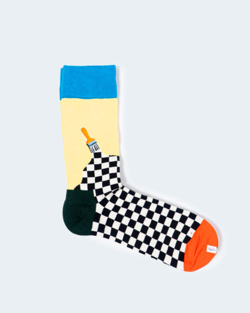 Calzini Lunghi Happy Socks SOCK PAINT Celeste – 54893