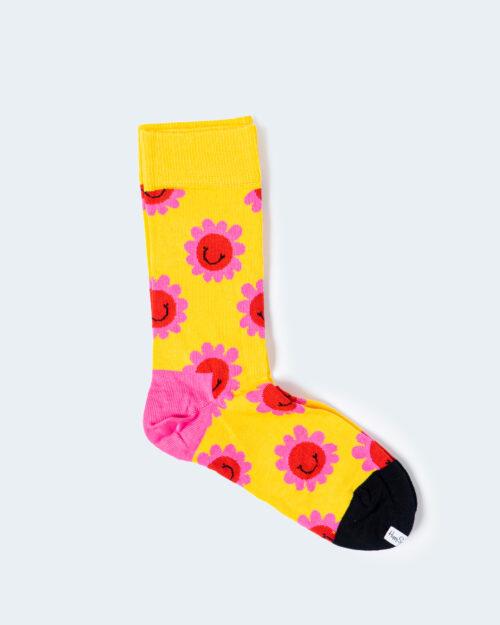 Calzini Happy Socks SMILEY FLOWER SOCK Giallo – 54887