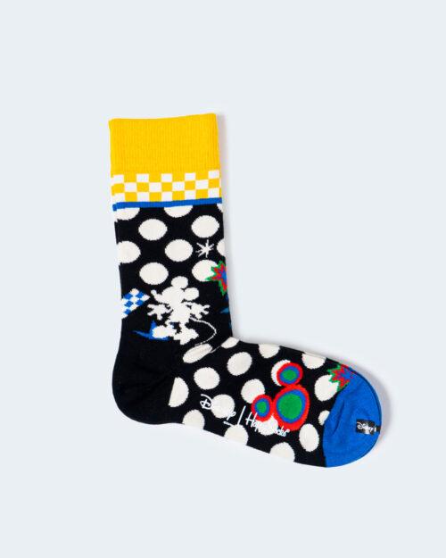 Calzini Lunghi Happy Socks TUNE IN SOCK Giallo - Foto 1
