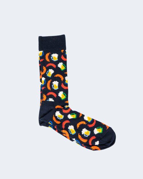 Calzini Happy Socks BAS01 BEER AND SAUSAGE Nero – 66579