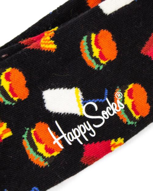 Calzini Lunghi Happy Socks HAMBURGER SOCK Nero – 22790