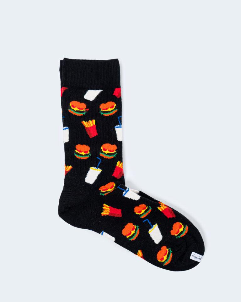 Calzini Happy Socks HAMBURGER SOCKs Nero - Foto 1