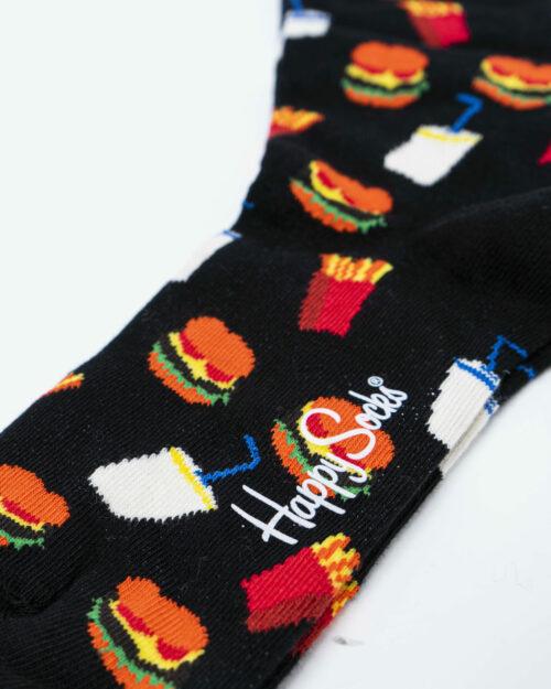Calzini Happy Socks HAMBURGER SOCKs Nero – 54911