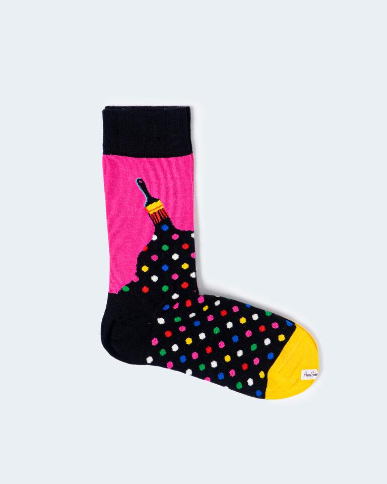 Calzini Happy Socks PAINT SOCK Nero - Foto 1