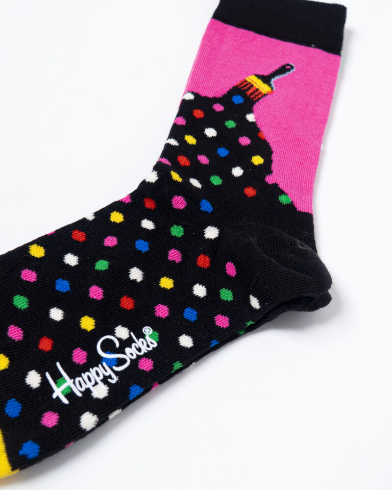 Calzini Happy Socks PAINT SOCK Nero - Foto 3