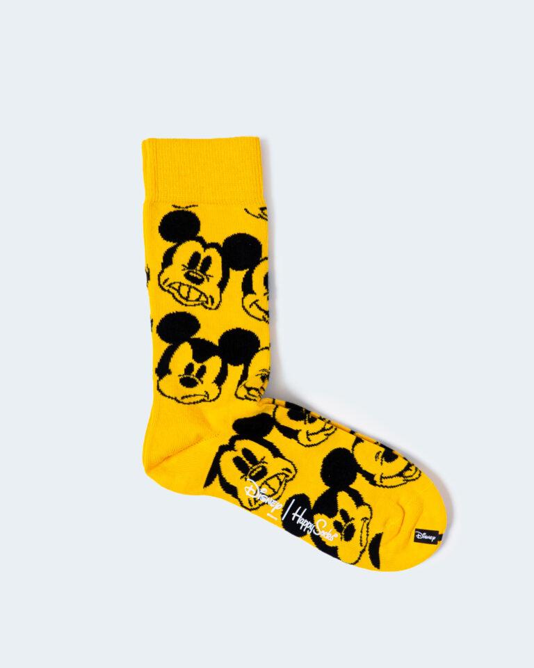 Calzini Happy Socks FACE IT MICKEY SOCK Ocra - Foto 1