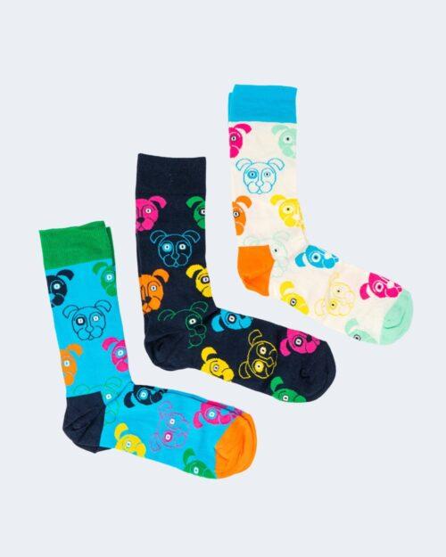 Calzini Lunghi Happy Socks DOG GIFT SET Blu – 66564