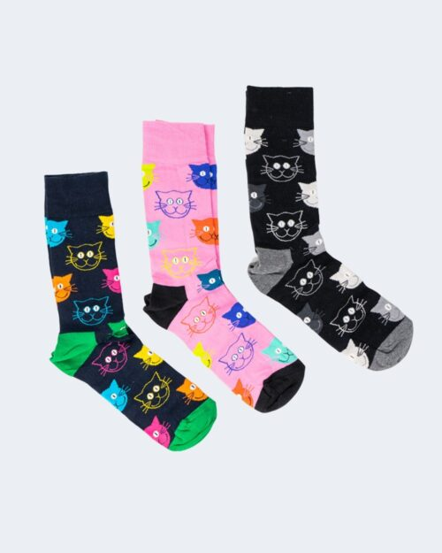 Calzini Lunghi Happy Socks MIXED CAT GIFT SET Blu – 66567