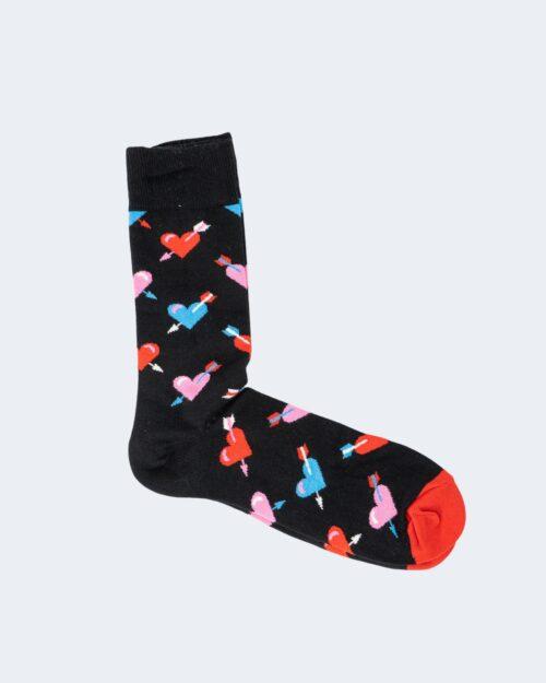 Calzini Lunghi Happy Socks HEART Nero – 66463