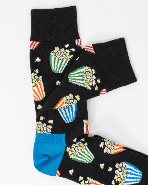 Calzini Lunghi Happy Socks POPCORN Nero – 66590