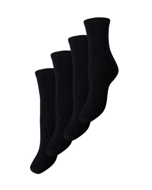 Calzini Pieces Elisa 4 Pack Socks Noos Nero – 41904