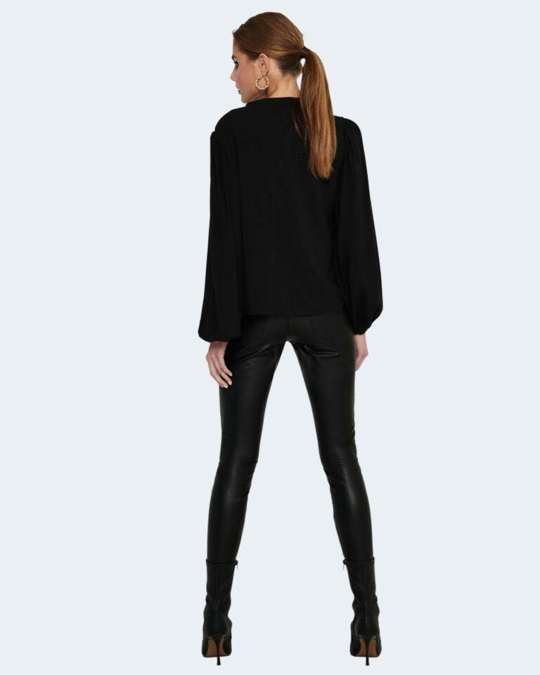 Bluse manica lunga Jacqueline de Yong MARLON Nero - Foto 4