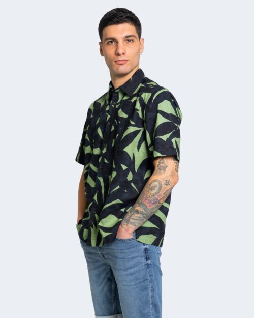 Camicia manica corta Only & Sons ENOAH Verde – 63324