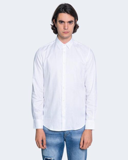 Camicia manica lunga Antony Morato NAPOLI SLIM Bianco – 63502