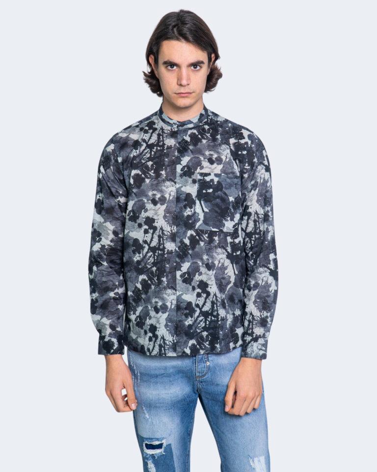 Camicia manica lunga Antony Morato STRAIGTH FIT Blu - Foto 1