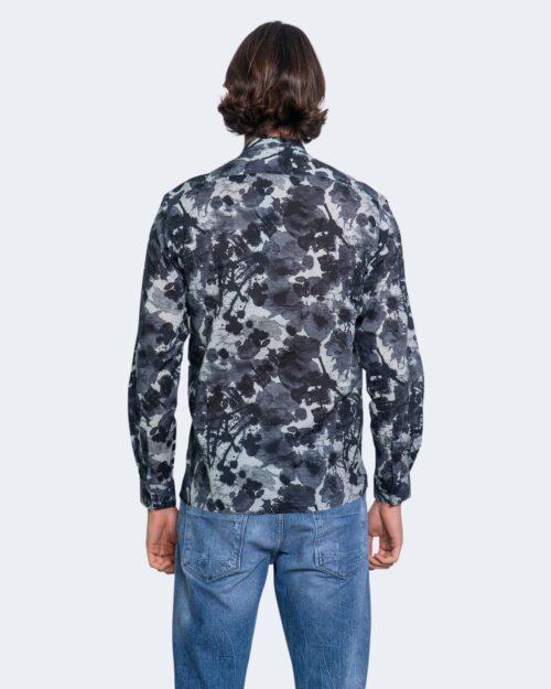 Camicia manica lunga Antony Morato STRAIGTH FIT Blu - Foto 3