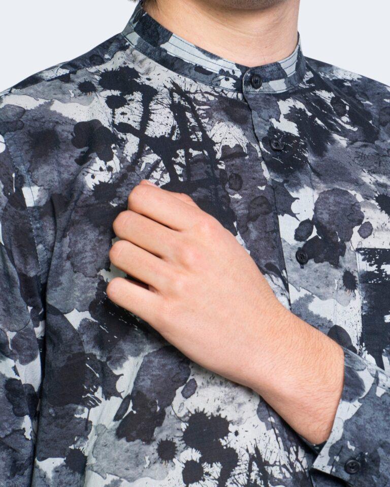 Camicia manica lunga Antony Morato STRAIGTH FIT Blu - Foto 4