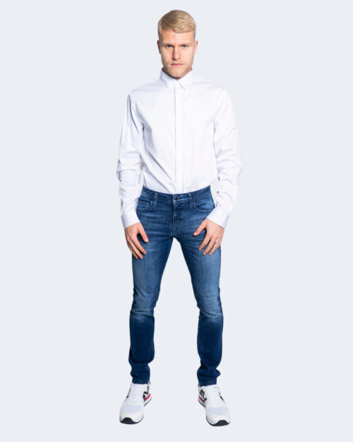Camicia manica lunga Armani Exchange TINTA UNITA Bianco – 65164
