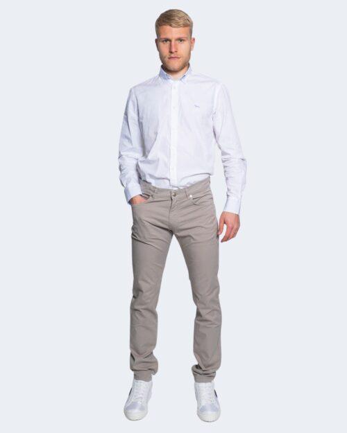 Camicia manica lunga Harmont&blaine 2 TESSUTI Bianco – 66822