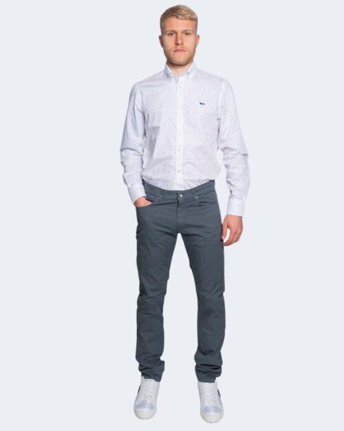 Camicia manica lunga Harmont&blaine MONOTESSUTO Bianco – 66819