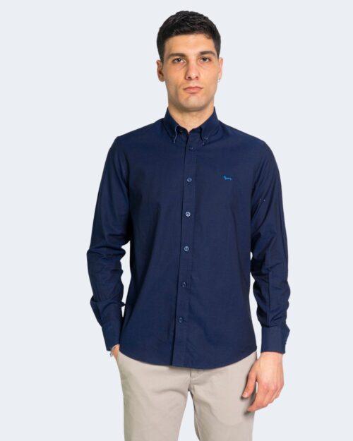 Camicia manica lunga Harmont&blaine CONTRAS Blu – 68026