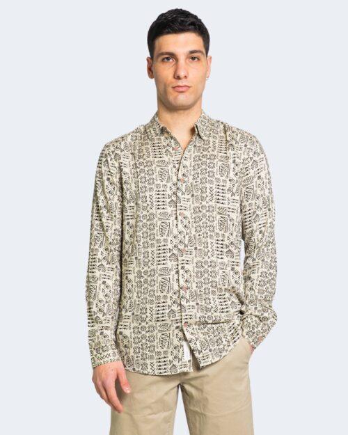 Camicia manica lunga Only & Sons SANTIAG Crema – 63327