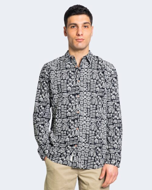Camicia manica lunga Only & Sons SANTIAG Nero – 63327