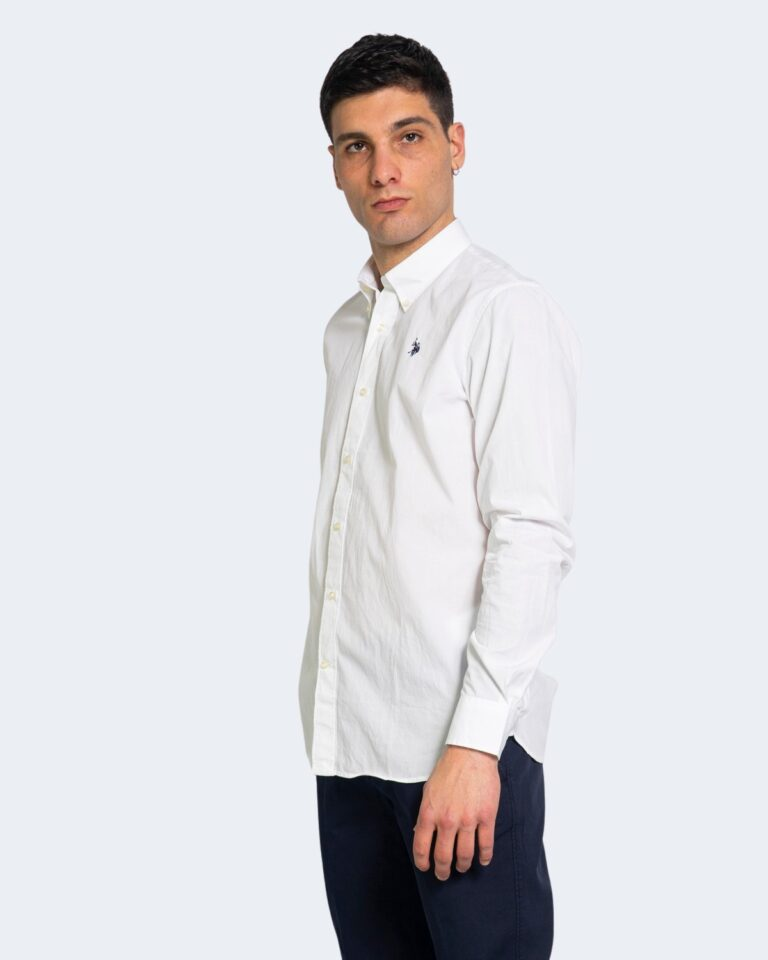 Camicia manica lunga U.S. Polo Assn. KUSTAVI Bianco - Foto 1