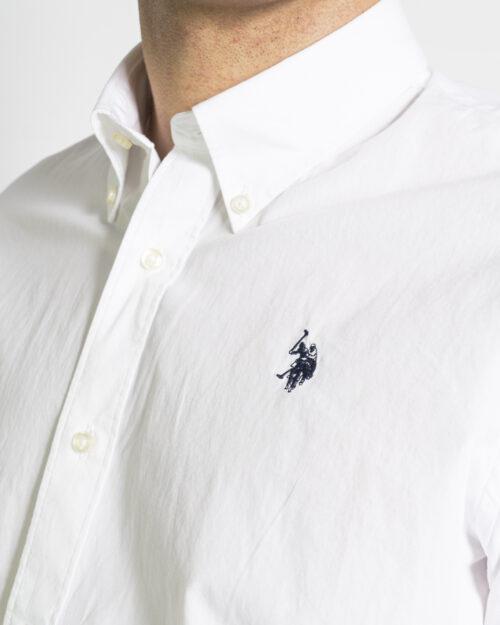 Camicia manica lunga U.S. Polo Assn. KUSTAVI Bianco - Foto 3