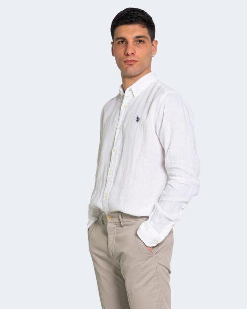 Camicia manica lunga U.s. Polo Assn. ZAM NEW Bianco – 67809