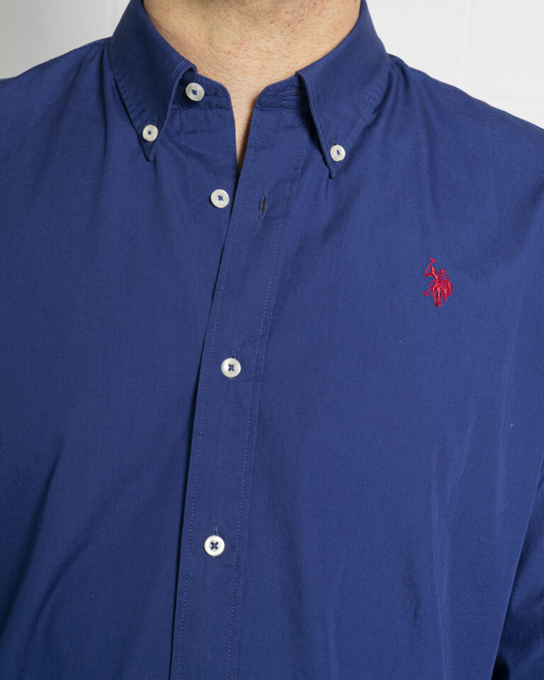 Camicia manica lunga U.S. Polo Assn. KUSTAVI Blu - Foto 3