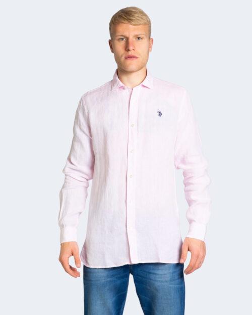 Camicia manica lunga U.s. Polo Assn. ADAM Rosa – 67337