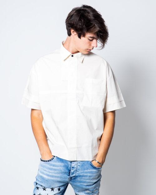 Camicia manica corta Antony Morato TASCHINO DEV07  COLOR Beige – 45171