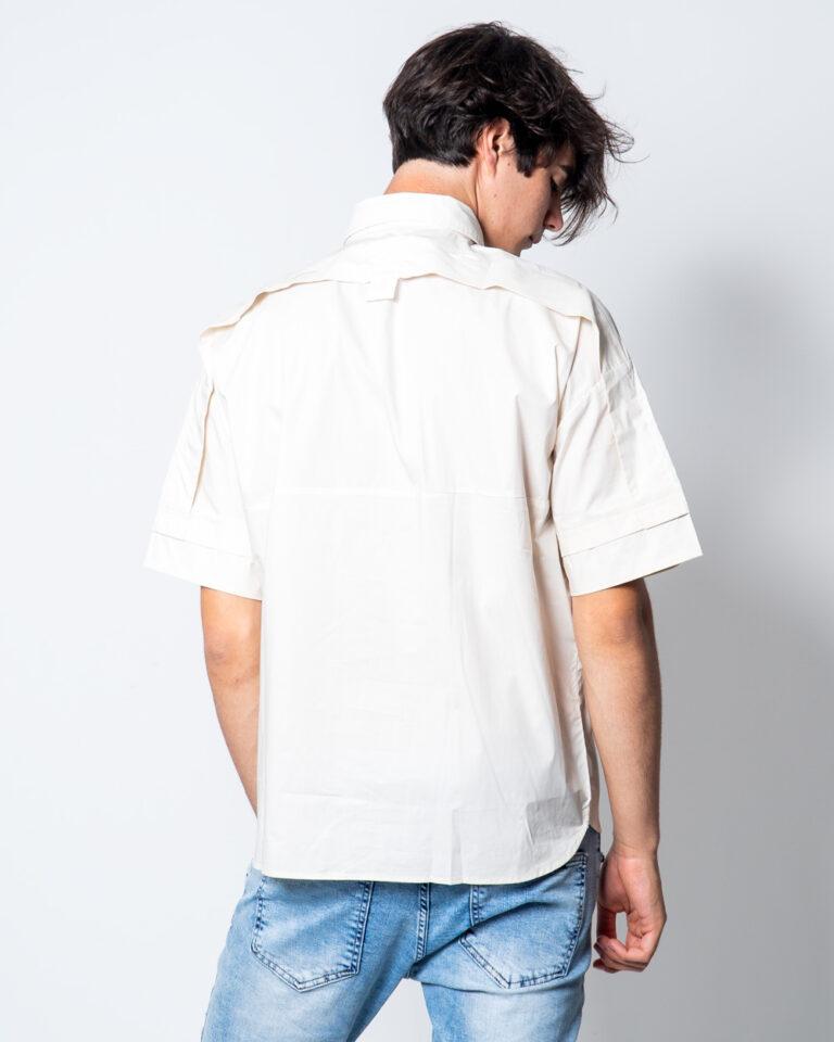Camicia manica corta Antony Morato TASCHINO DEV07  COLOR Beige - Foto 3