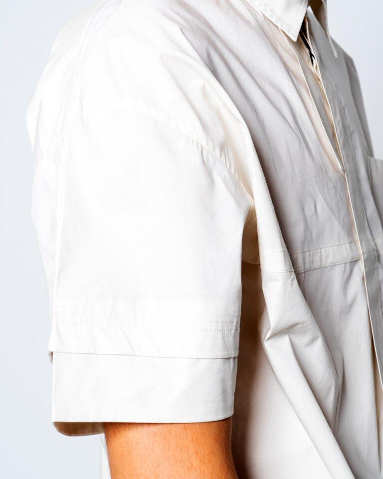 Camicia manica corta Antony Morato TASCHINO DEV07  COLOR Beige - Foto 4