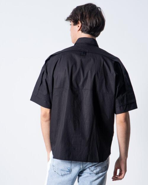 Camicia manica corta Antony Morato TASCHINO DEV07 Nero – 42530