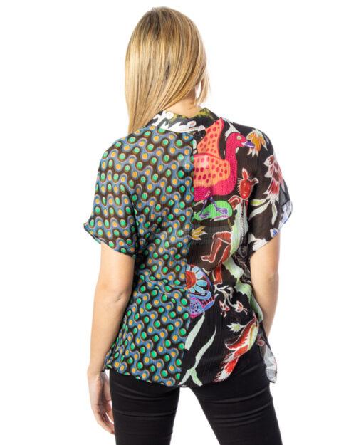 Camicia manica corta Desigual CAM GLORIA Multicolor – 40163